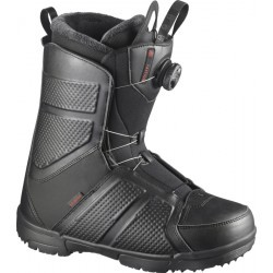 CHAUSSURES   SALOMON SNOW. BOOTS FACTION BOA BLACK