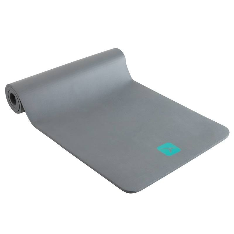tapis gym pilates confort gris - Tapis De Gym