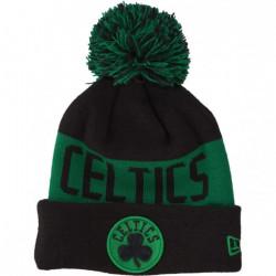 Bonnet NBA Boston Celtics New Era Team Tonal Noir pour enfant Junior (53-55cm) Multicolor