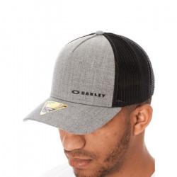 Casquette Snapback à visière arrondie Oakley Chalten Grigio Scuro