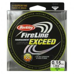 BERKLEY Tresse fireline tournament exceed 110m - vert - Ø 15/100