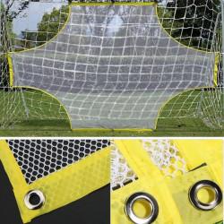 But de football net cible de football élastique portable avec accessoire de formation de sac de transport(5 personnes ) -NIM