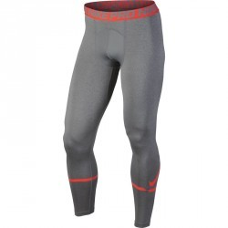 LEGGING FITNESS HOMME GREY ORANGE