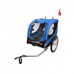 Bike original - Remorque bleue pour chien
