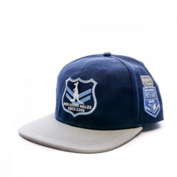 NSW Casquette Bleu Homme Rugby Canterbury New South Wales