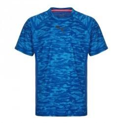 Tshirt fitness homme bleu