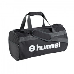 Sac de sport Hummel Trophy - noir-gris-blanc - L