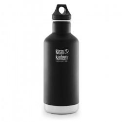 Klean Kanteen 946ml Classique Vide Insulated Bottle Boucle Cap Schiste Noir