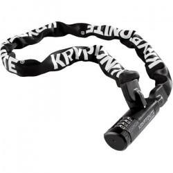 Kryptonite Keeper 712 Combo I.C. - Antivol vélo - 120cm blanc/noir