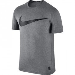 Tshirt fitness homme SWOOSH gris