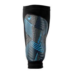 Protège-tibias Uhlsport Sockshield Lite 2.0 - bleu/noir - M