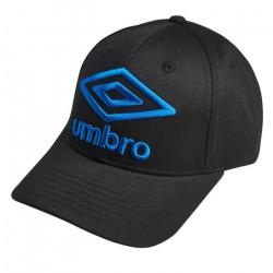 UMBRO Casquette Homme Uni - Noir / Bleu