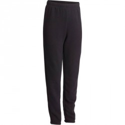 Pantalon chaud regular Gym garçon noir Warm'y