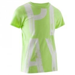 T-Shirt manches courtes imprimé Gym garçon vert