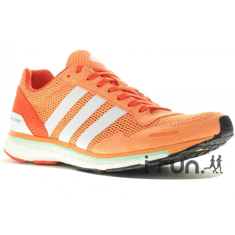 pas mal a3751 e98b0 adidas adizero adios Boost 3 W Chaussures running femme - avis / test