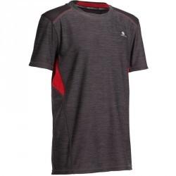T-Shirt manches courtes Gym Energy garçon gris bleu