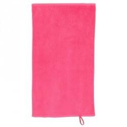 Serviette petite coton fitness rose