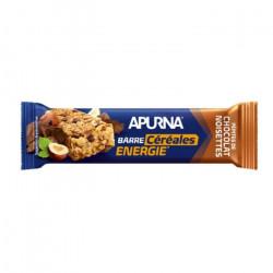 Barres Apurna HyperNutrition Croustillante Chocolat-Noisette 5x25g - bleu - TU