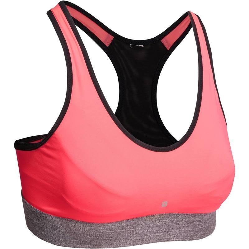 Brassiere BREATHE fitness femme rose