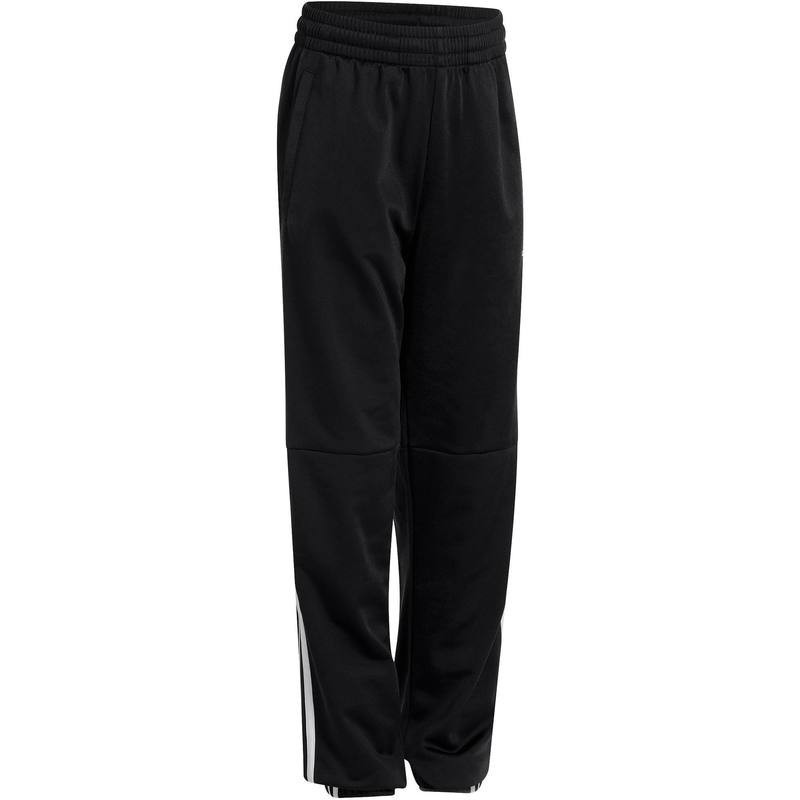 Pantalon fitness garçon noir