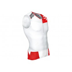 Compressport Débardeur TR3 Tank M déstockage running