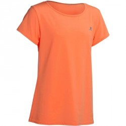 T-Shirt manches courtes Gym Energy fille orange