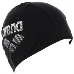 Bonnet de bain Bonnet polyester noir - Arena UNI Noir