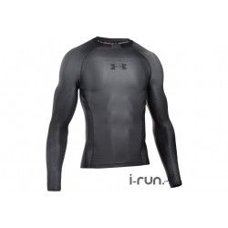 Under Armour Charged Compression Manches Longues M vêtement running homme