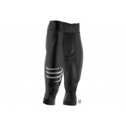 Compressport Pirate 3/4 M vêtement running homme