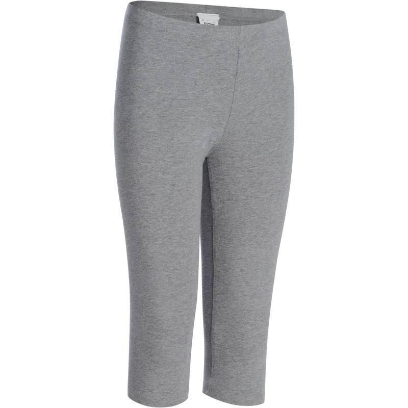 Corsaire Gym fille gris