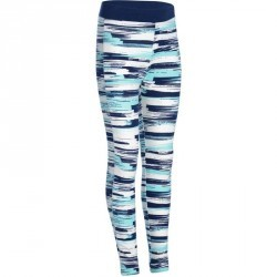 Legging imprimé Gym fille bleu