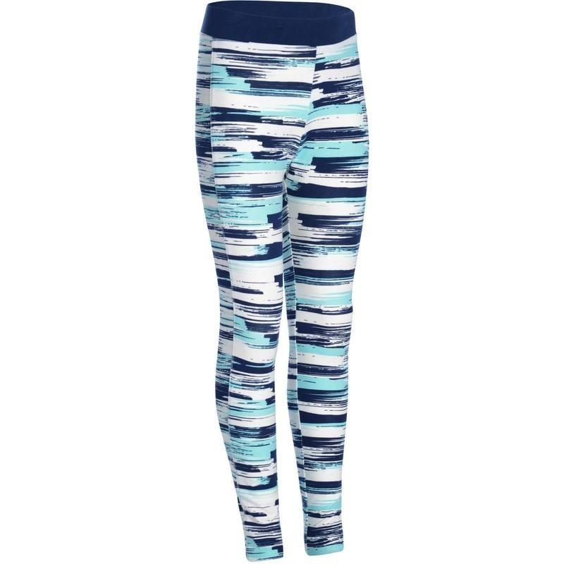 Legging imprimé Gym fille bleu