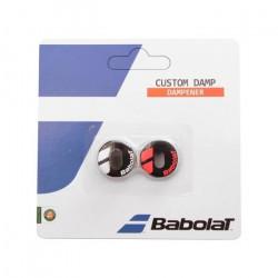Antivibrateur BABOLAT Custom Damp Noir / Rouge Fluo