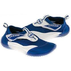 Cressi  Coral Chaussons de sport aquatique,de plage et d`eau pour Enfant Bleu/Blanc 28 - VB945028