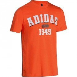 Tshirt fitness homme orange