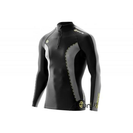 Skins DNAmic Thermal Mock Neck Zip M vêtement running homme