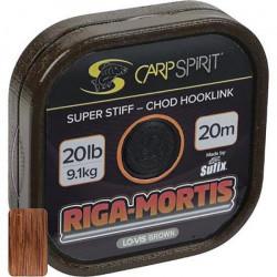 BAS DE LIGNE RIGIDE CARP SPIRIT RIGA MORTIS BROWN - 20MBrown2525lbs020 25 Brown