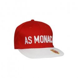 Casquette Asetyflat 3 AS Monaco - rouge/blanc - TU