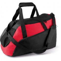 Sac de Sport Kimood 2 grandes poches - noir/rouge - TU