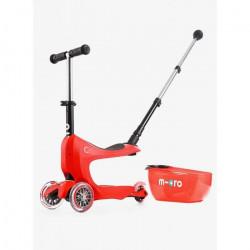 Trottinette MICRO Mini 2Go Deluxe Rouge