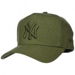 Casquette 9FORTY Seasonal Heather Aframe New York Yankees vert militaire NEW ERA - Ajustable