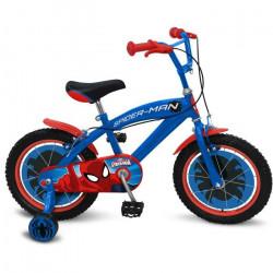 SPIDERMAN Vélo 16- Enfant Garçon - Tout billes + jantes acier + freins caliper