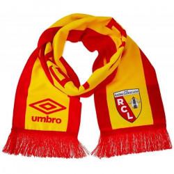 Écharpe RC Lens Umbro rouge/jaune TU Rouge