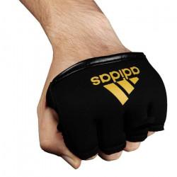 adidas  Knuckle Gants pour Adulte Noir/doré Taille Unique - adiSKS01