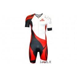 BV Sport Combinaison Triathlon 3x200 M vêtement running homme