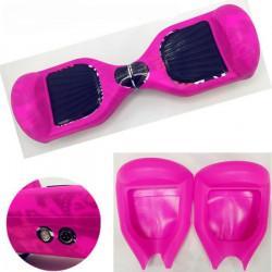 Rose Coque de Protection en Silicone Souple Peau Pour Housse en 16,5 cm Smart d'équilibre Trottinette électrique Hoverboard S