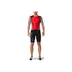 2XU Full Zip Trisuit M vêtement running homme