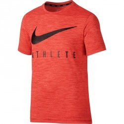 Tshirt fitness garçon ATHLETE orange