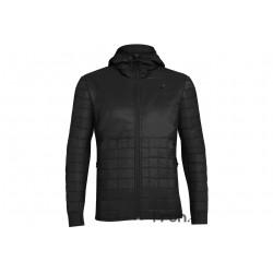 Icebreaker Helix LS Zip Hood M vêtement running homme
