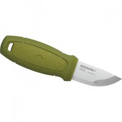 Morakniv couteau de chasse avec fourreau 14,6 cm en acier inoxydable argent/vert